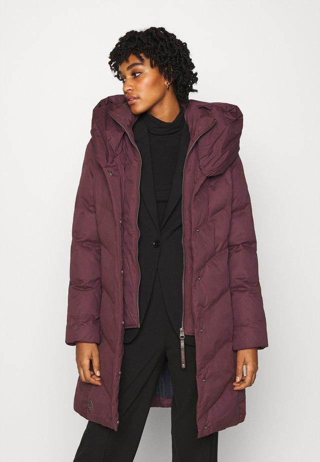 NATALKA - Zimní kabát - wine red