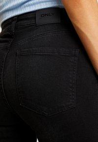 ONLY - ONLFHUSH LIFE - Jeans Skinny Fit - black denim - 4