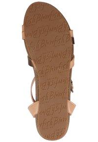 Blowfish Malibu - Ankle cuff sandals - blush/rose gold/amber/blush - 4