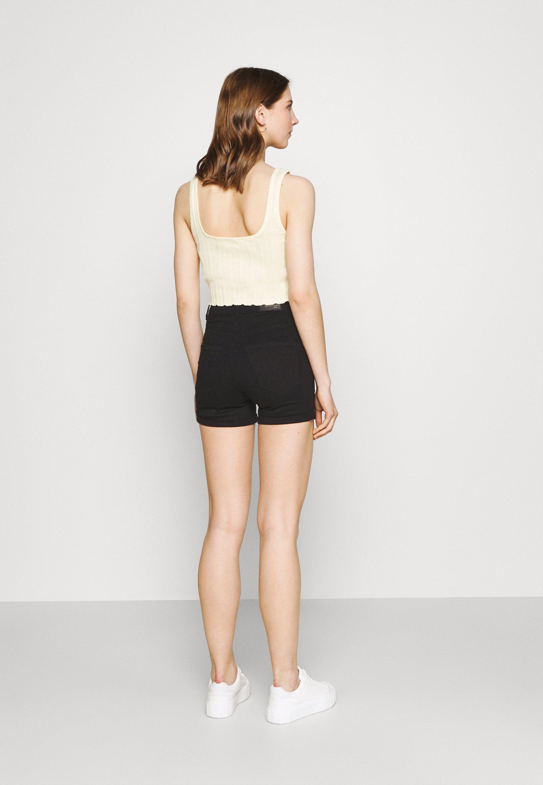 Femme Short en jean