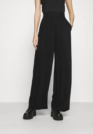 KELLY TROUSER - Bukse - black