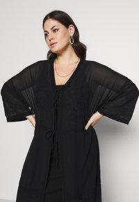 Zizzi - MAUNDREY 3/4 - Summer jacket - black - 3