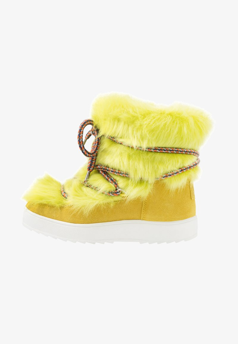 Colors of California - Lace-up ankle boots - lime