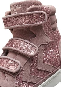 Hummel - STADIL GLITTER - High-top trainers - deauville mauve - 6