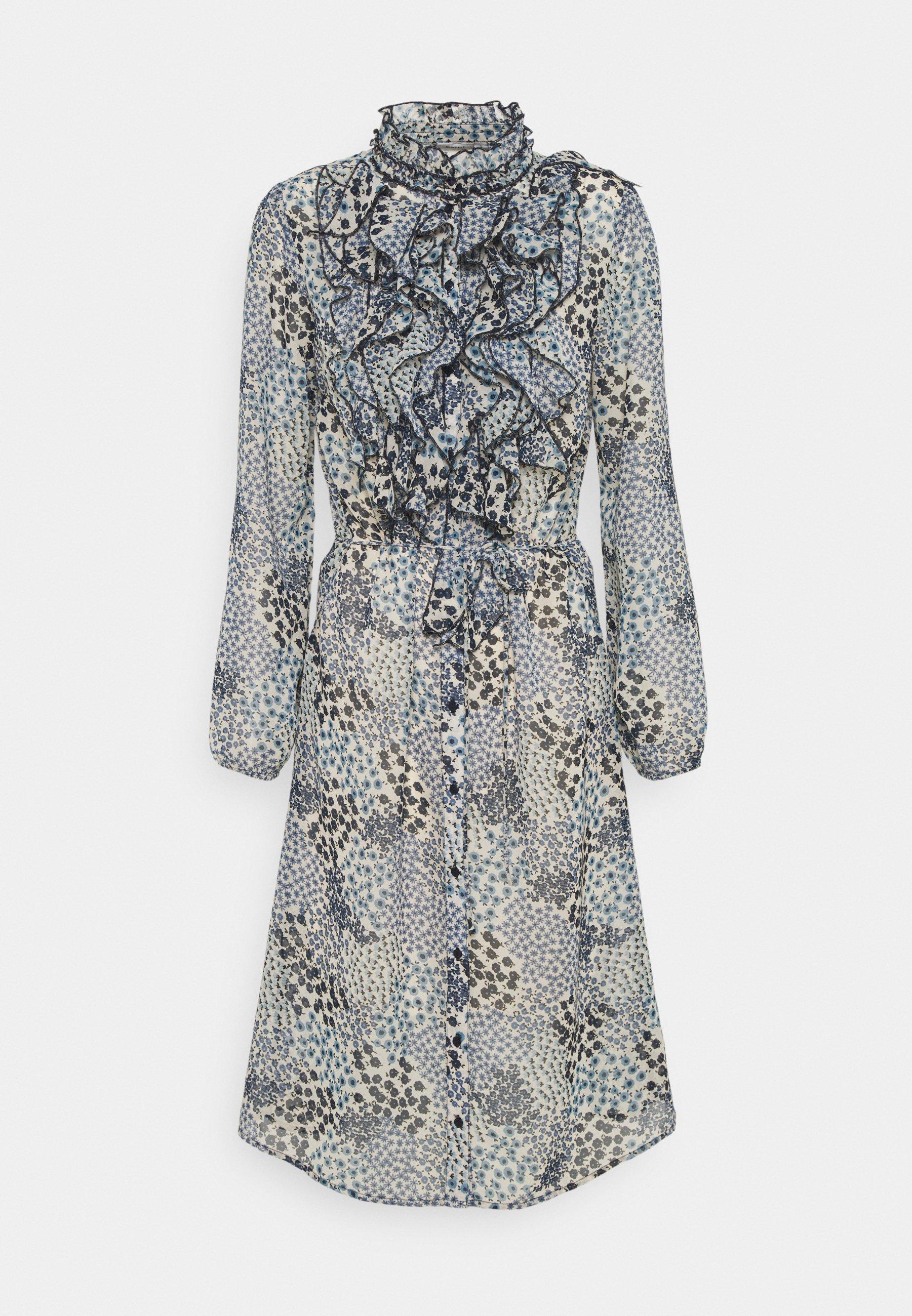 Damen DRESS - Blusenkleid - dapple blue