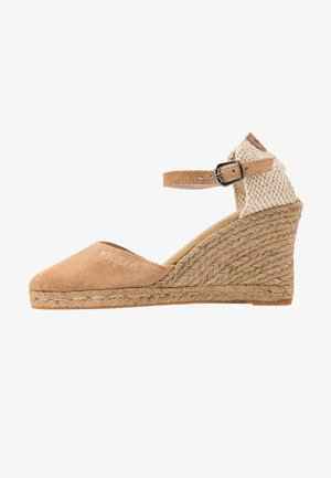 WENDY BASS - High heeled sandals - tobacco