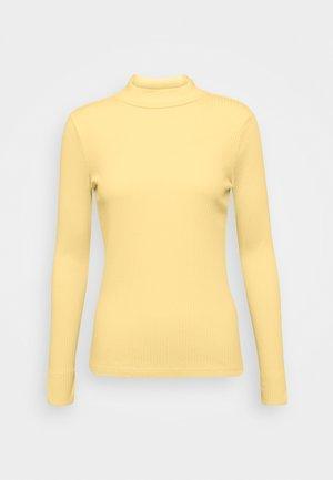 Top sdlouhým rukávem - pale banana yellow