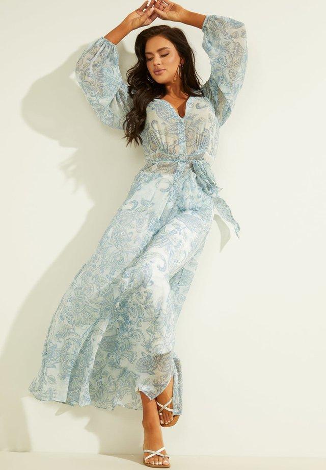 Blusenkleid - himmelblau