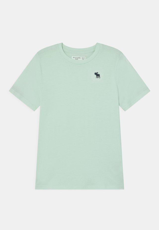 BASICS - Jednoduché triko - mint green