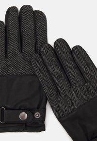 Pier One - Gloves - black/grey - 2