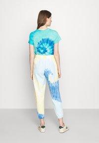 Polo Ralph Lauren - TDYE PO PANT ANKLE ATHLETIC - Tracksuit bottoms - multi-coloured - 0