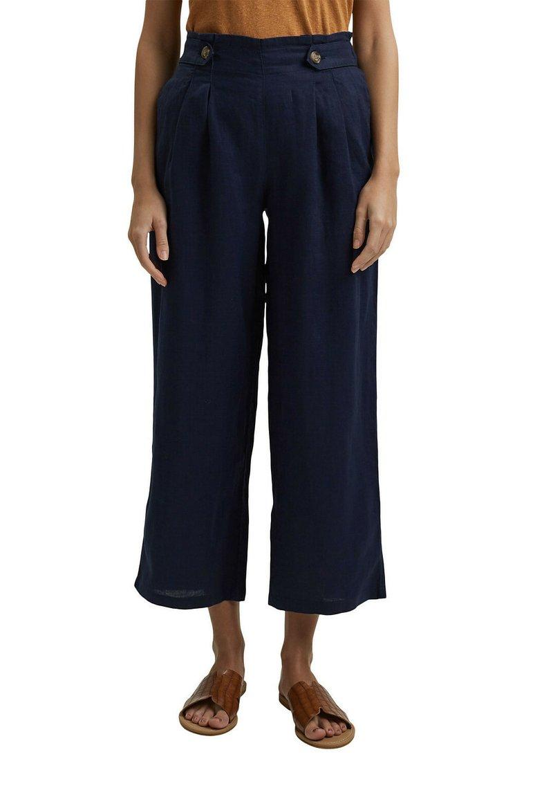 Esprit - Trousers - navy