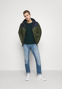 TOM TAILOR - COSY SWEATER - Jumper - sapphire green - 1