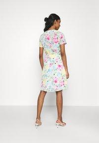 Vila - VIADALINA WRAP DRESS - Day dress - jelly bean - 2