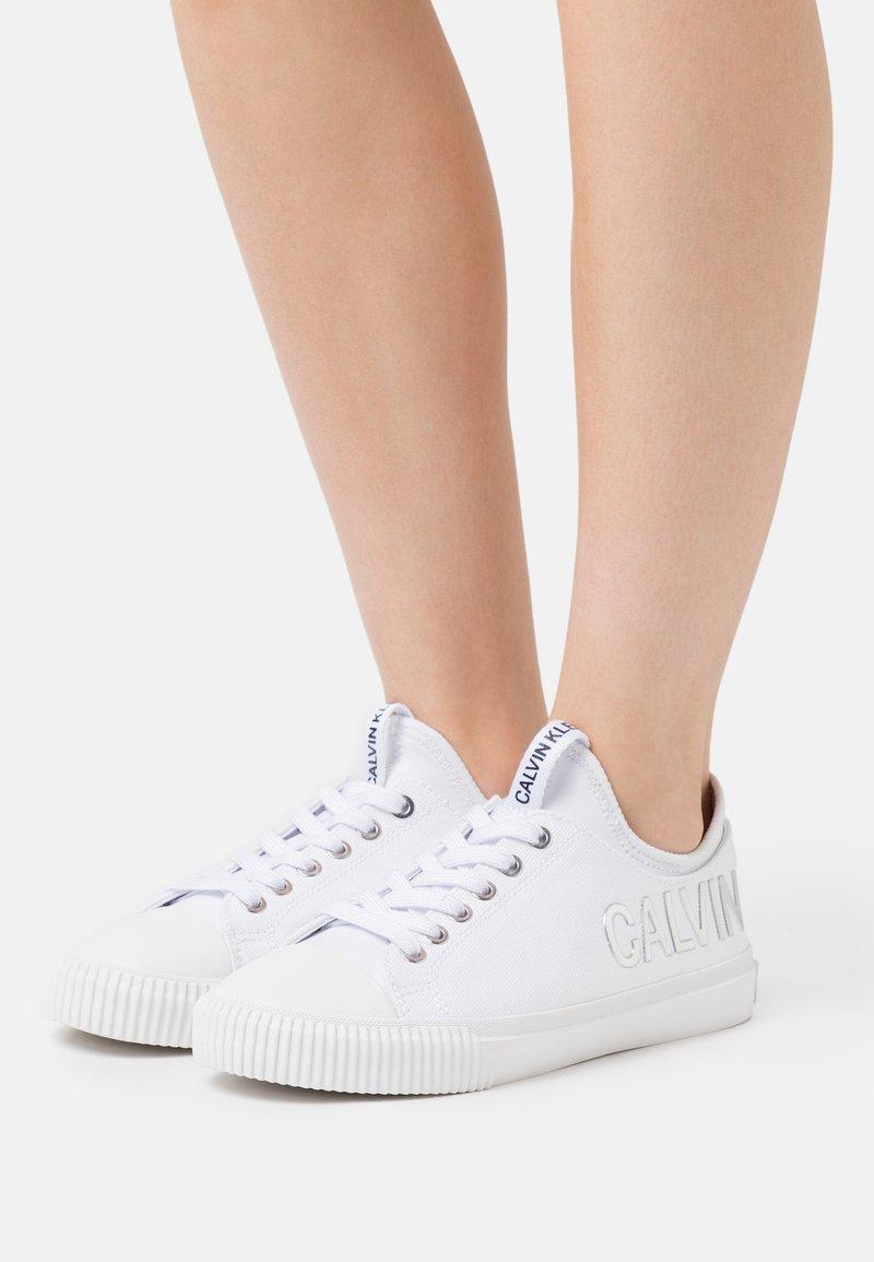 Calvin Klein Jeans - IRISA - Trainers - white/silver