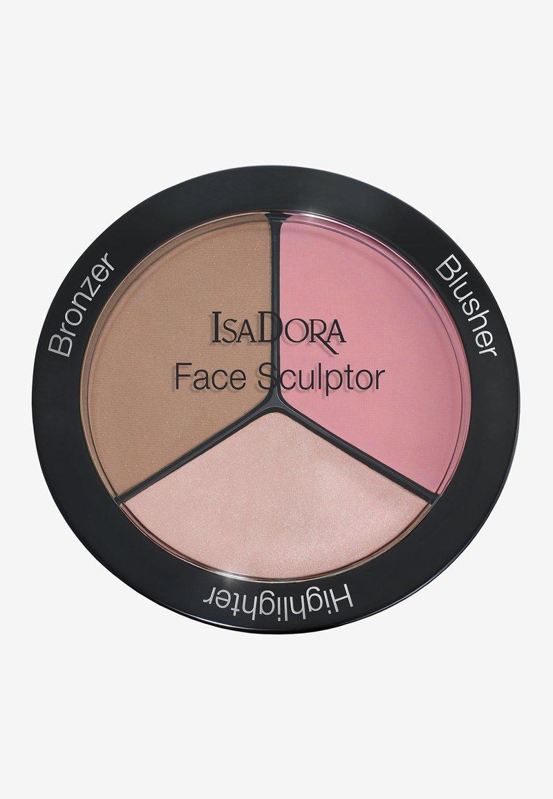 IsaDora - FACE SCULPTOR - Face palette - cool pink