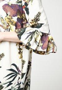 Madam-T - Maxi dress - milchig gelb - 5