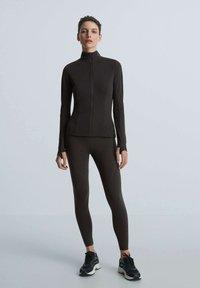 OYSHO - Training jacket - black - 1