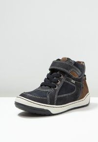Lurchi - BARNEY-TEX - High-top trainers - atlantic/brown - 2