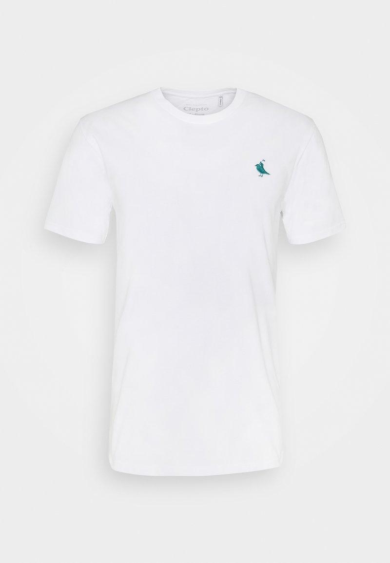 Cleptomanicx - GULL RIDER - T-shirt basic - white