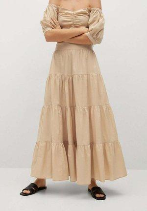 TAFA-L - Maxi skirt - beige