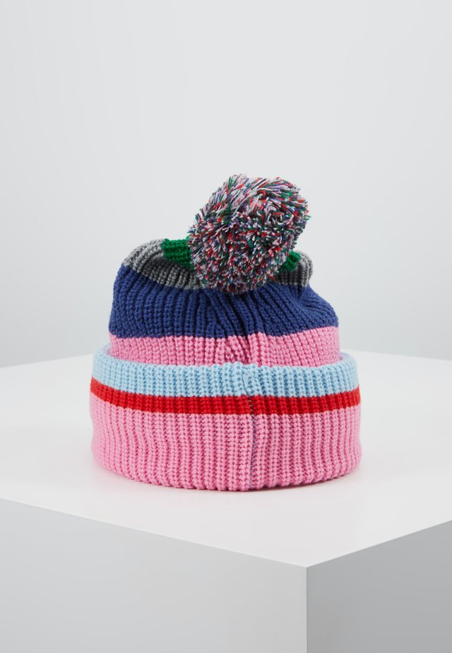STRIPE HAT - Gorro - light rose