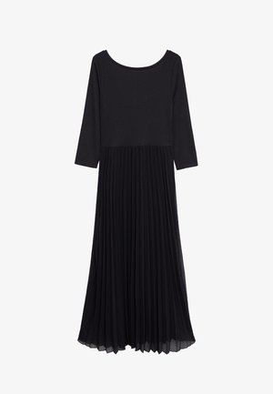 PLISSÉE - Maxi dress - noir