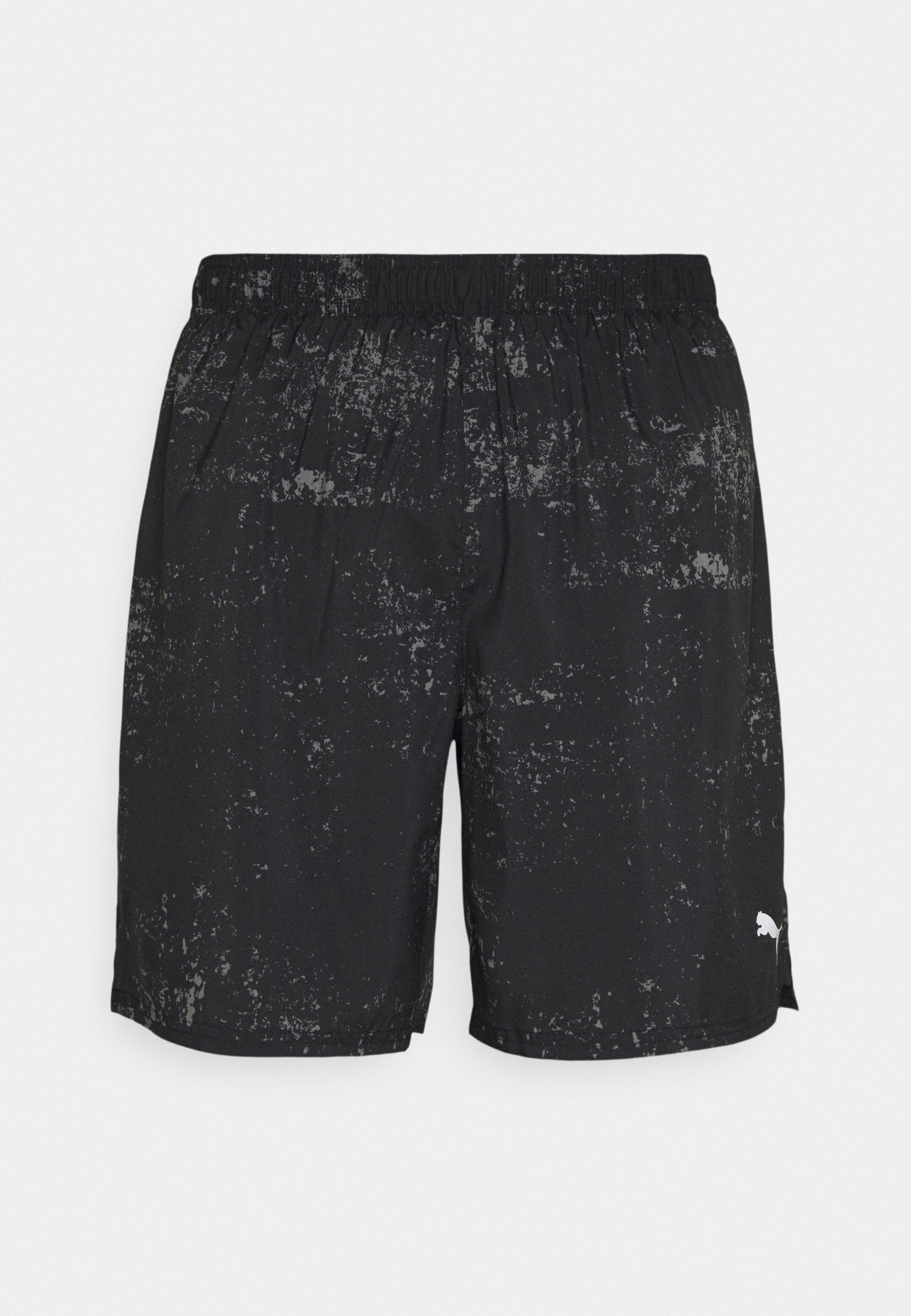 Men RUN GRAPHIC  - Sports shorts