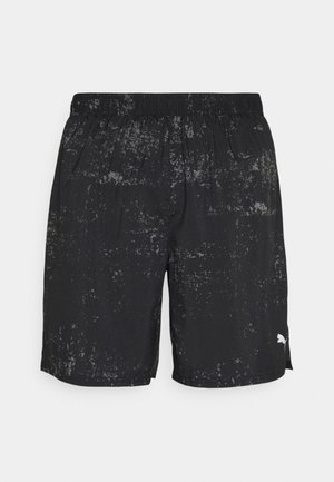 RUN GRAPHIC  - Träningsshorts - black