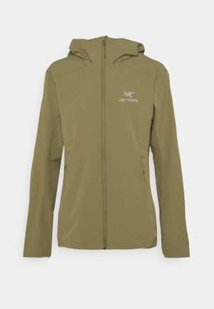 GAMMA HOODY WOMENS - Outdoor jacket - light tatsu