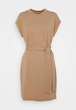 VMKIARA WIDE DRESS - Jersey dress - tobacco brown