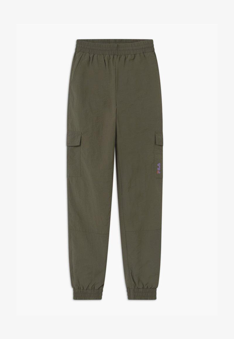 Fila - IVA - Cargo trousers - grape leaf
