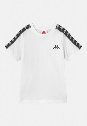 ILYAS UNISEX - Print T-shirt - bright white