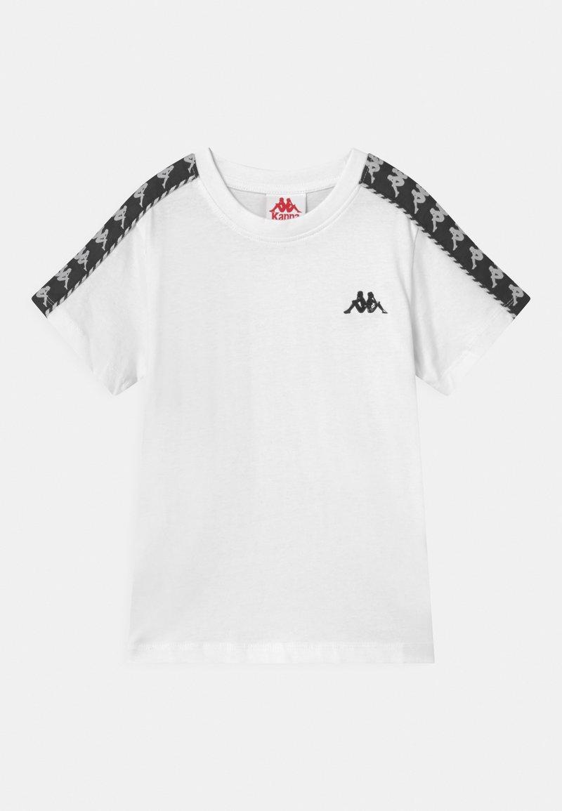Kappa - ILYAS UNISEX - T-shirt con stampa - bright white