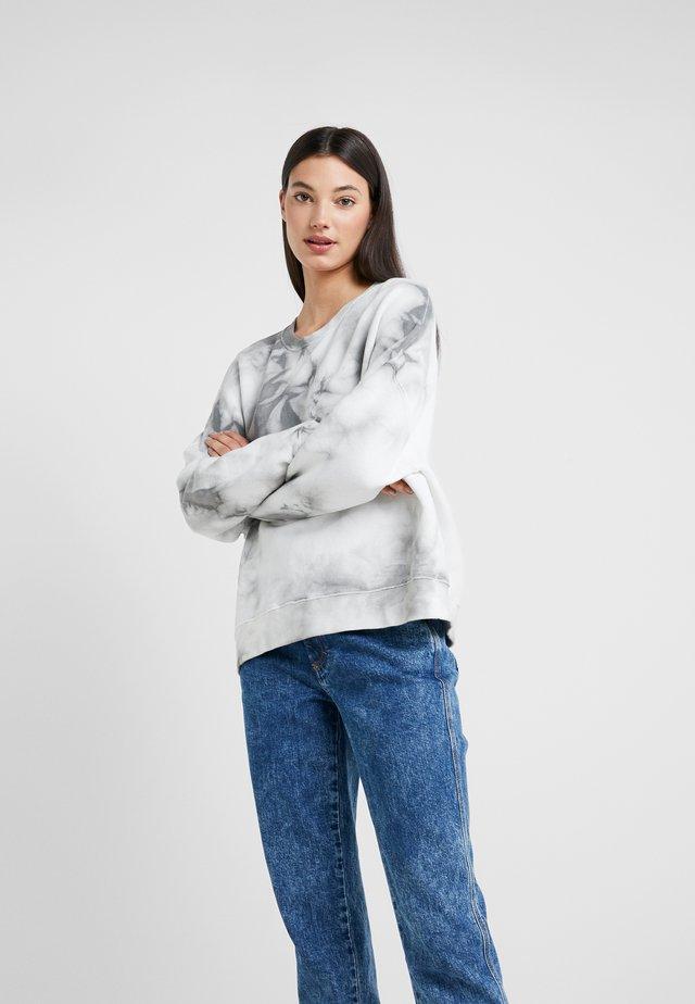 LAISA - Felpa - grey/white