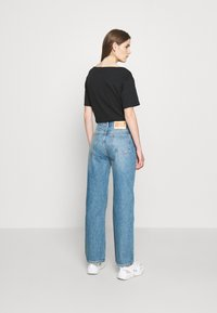 Boyish - THE ZIGGY HIGH RISE - Relaxed fit jeans - dark blue - 4