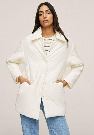 Winter coat - ecru