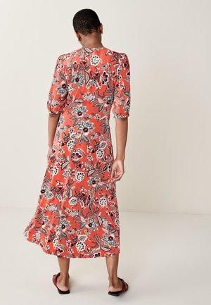 V NECK  - Day dress - multi-coloured
