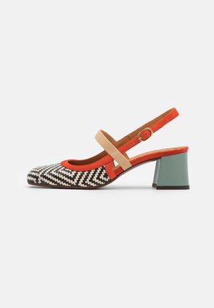 VOYAGE - Classic heels - mei/rosa/freya fango