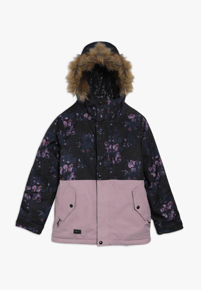 MINTY JACKET - Snowboard jacket - black