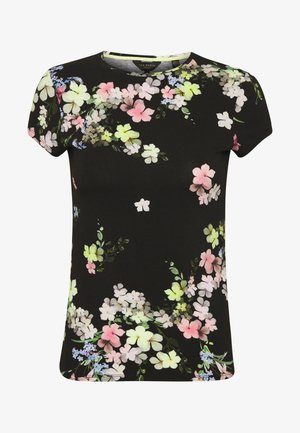 ALIEY - Print T-shirt - black