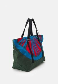 Marimekko - CREATED TANNERT APPELSIINI BAG - Weekend bag - green/blue/red - 1