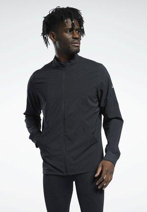 RE WOVEN WIND JKT - Training jacket - black