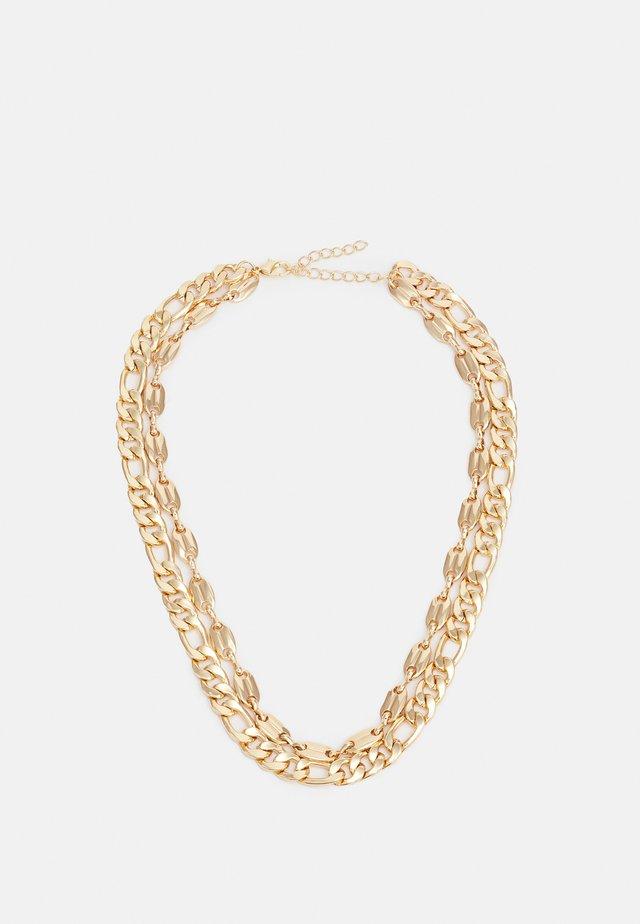 LAYERING BASIC NECKLACE UNISEX - Necklace - gold-coloured