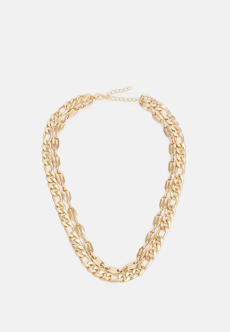 Urban Classics - LAYERING BASIC NECKLACE UNISEX - Smykke - gold-coloured