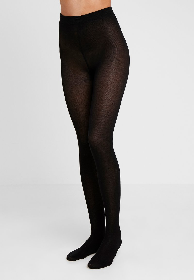 camano - TIGHT 2 PACK - Tights - black