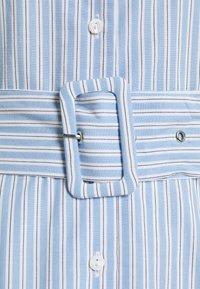 YAS - YASCASA LONG DRESS - Maxi dress - della robbia blue - 2