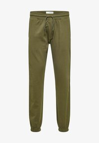 Selected Homme - Tracksuit bottoms - forest night - 5