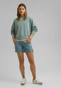 Esprit - Shorts - grey blue - 1