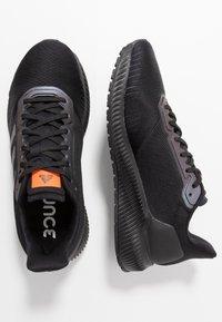 adidas Performance - SOLAR RIDE - Laufschuh Neutral - core black/grey six/solar orange - 1